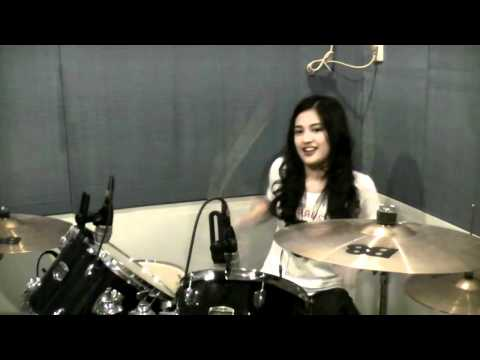Look At Me Now by Julie Anne Drums cover Behind the Scene