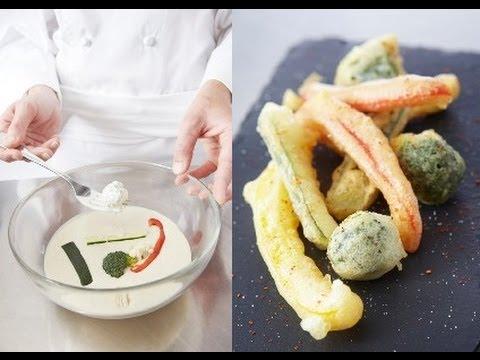 Faire des beignets de légumes (tempura) - YouTube eaaf60c86ac2
