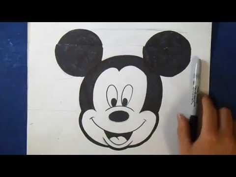 Comment dessiner mickey mouse doovi - Dessiner mickey ...