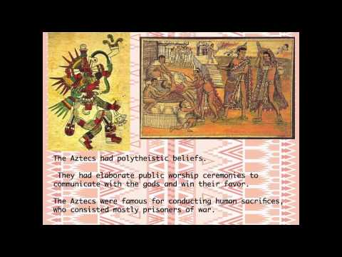 Major Beliefs,Lifestyle, and Achievements of the Aztecs - YouTube