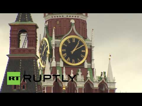 Russia: Hear the Kremlin Clock chime once again after restoration work