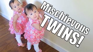 Mischievous Twins - March 28, 2015 - ItsJudysLife Vlogs
