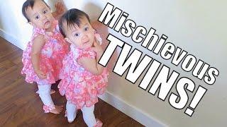 Mischievous Twins - March 28, 2015 - ItsJudysLife Vlogs
