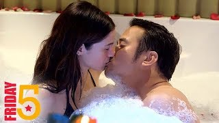 Friday 5 5 hottest and trending intimate scenes of Adrian and Mich in PHR Araw Gabi