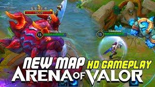 NEW MAP ULTRA HIGH u0026 LOW QUALITY GAMEPLAY | Arena of Valor | LiênQuânMobile | 傳說對決 | 펜타스톰 | 伝説対決