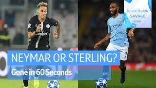 Gone in 60 Seconds | Sterling or Neymar? Jose Mourinho and Rooney