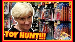 TOY HUNT!!! MAMA DAZE IN WALMART!!! WWE Action Figure Fun #107