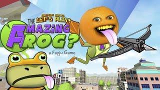 Annoying Orange Plays - Amazing Frog