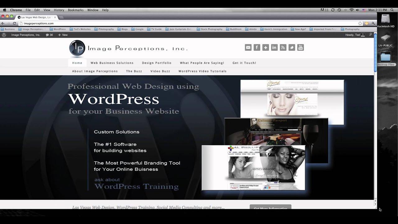 Las Vegas Web Design Responsive Web Design Youtube