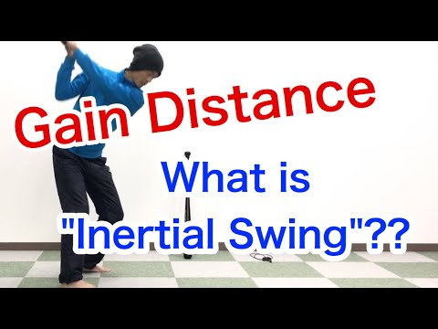 "What is ""Inertial swing"" ? New Golf swing theory to get distance :  [Golf Swing Kinematics Japan]"