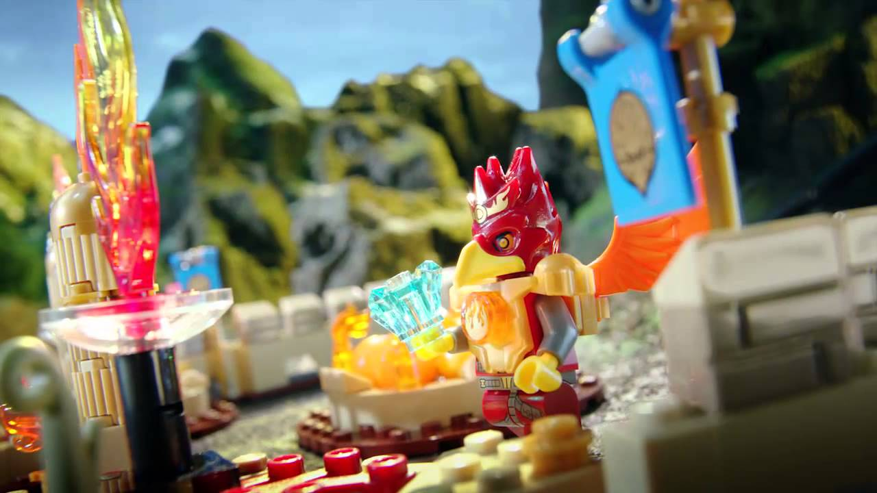 Lego 174 Chima Flying Phoenix Fire Temple Vs Maula S Ice