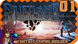 DRIFTLAND: THE MAGIC REVIVAL | Fantasy RTS Empire Builder Game | Let's Play Driftland