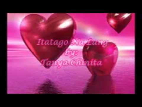 Itatago Na Lang   Tanya Chinita HD Lyric Video
