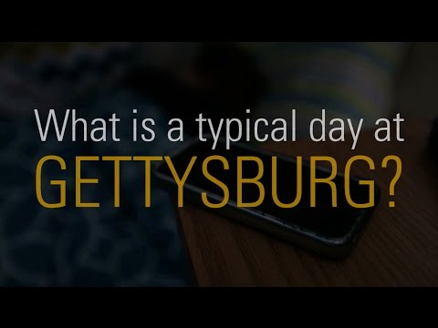 A Day at Gettysburg College