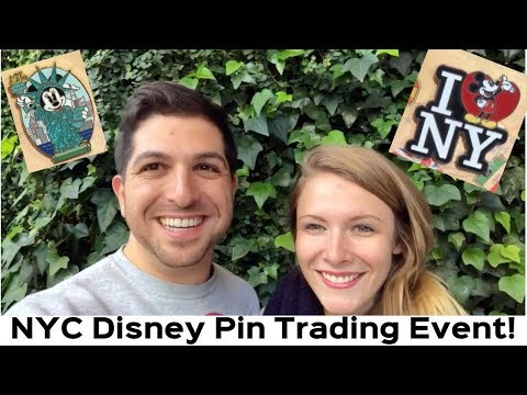 NEW YORK CITY DISNEY PIN TRADING EVENT! | November 2017