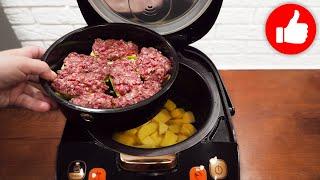 Вы будете в восторге Никогда не перестану готовить по этому рецепту в мультиварке кабачки с фаршем