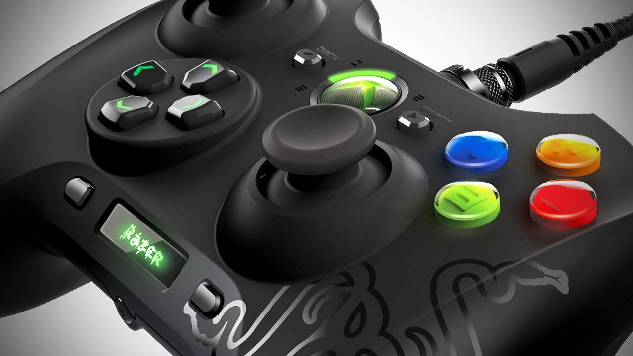 Best Xbox Controller >> Razer Sabertooth Gaming Controller -- XBOX 360, PC (CES 2013) - YouTube