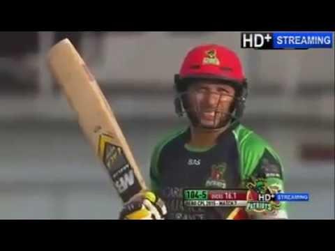 Shahid Afridi Made 2 Sixes on 2 Balls In Caribbean League   ARYSports tv
