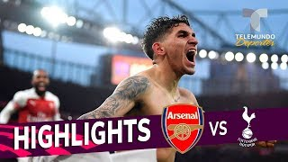 Arsenal vs. Tottenham: 4-2 Goals & Highlights | Premier League | Telemundo Deportes