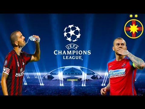 Spectacol Pe San Siro Din Milano In Uefa Champions League - PES 2018 Romania Cariera Cu Steaua #4