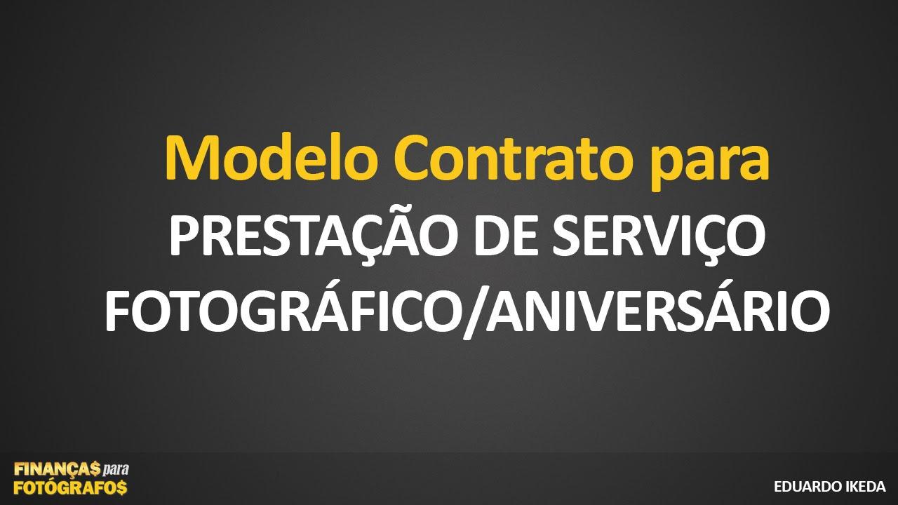 Download Contrato Prestação De Serviço Fotográfico Aniversário
