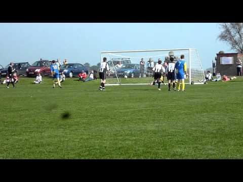 St John's Stephen Glover 2nd penalty attempt v Col...