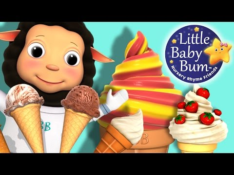Ice Cream Song for Children  Little Ba Bum  Nursery Rhymes for Babies  s for Kids