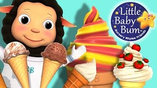 Ice Cream Song for Children | Nursery Rhymes | Original Song by LittleBabyBum