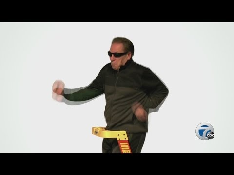 Tom Izzo dances in sunglasses in new Werner ladder commercial