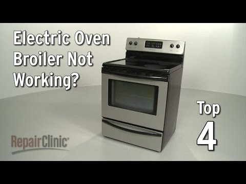 Oven Broiler Not Working — Electric Range Troubleshooting