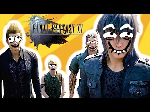 If FINAL FANTASY XV was Realistic (Funny Animation)