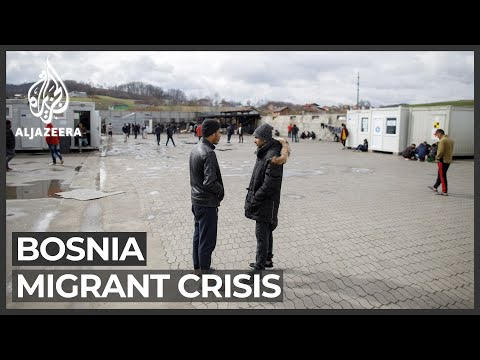Migrants, refugees face harsh winter near Bosnia-Croatia border