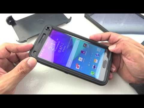 """Otterbox Defender Series Case for Samsung Galaxy Note 4 """"Full Review"""""""