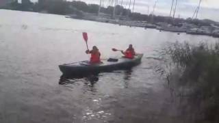 Надувное каноэ для рыбалки, лодка каноэ или Байдарка