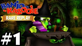 Rare Replay : Banjo-Kazooie - 100% Gameplay Walkthrough Part 1 [ HD ]