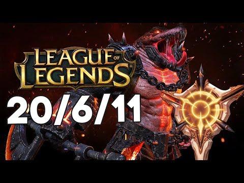 Доминация топлейна с 20 киллами // League of Legends #18 thumbnail