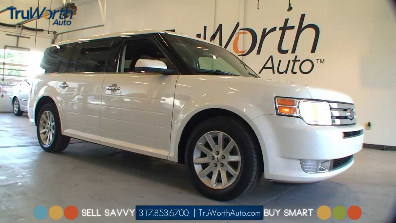 2010 Ford Flex SEL   Panoramic VIsta Roof   SIRIUS Satellite Radio    TruWorth Auto