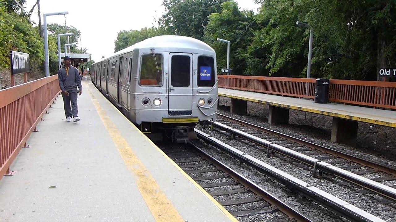MTA SIR: St. Louis R44 Staten Island Railway Local At Old