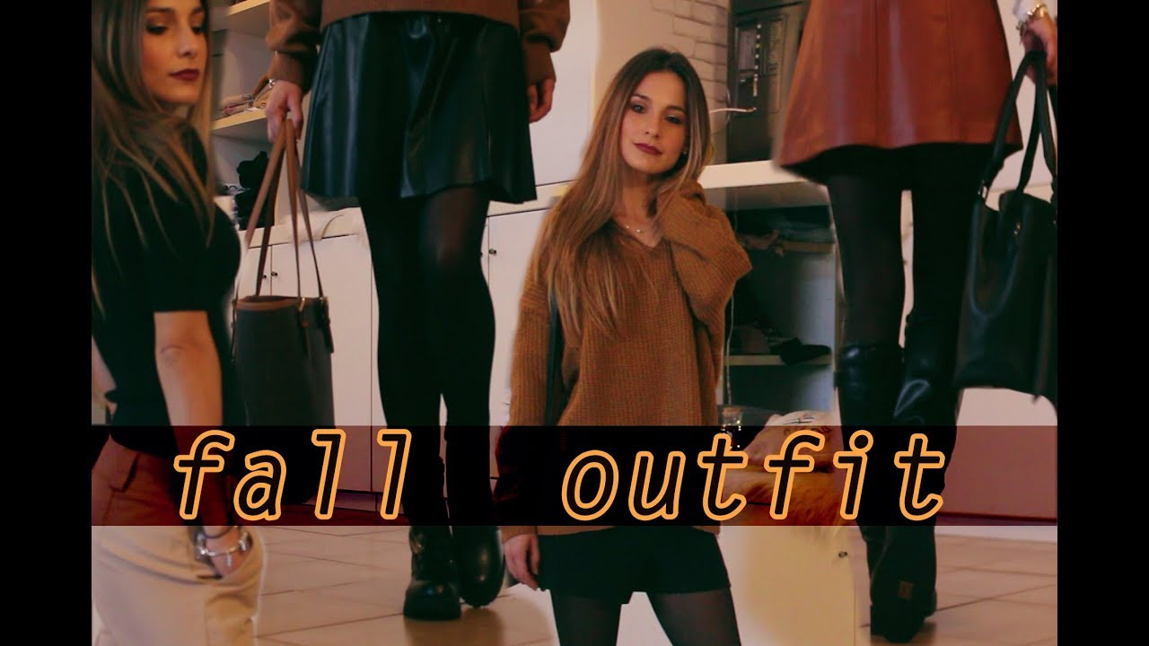 [VIDEO] - ? FALL LOOKBOOK  ? ♡  6 OUTFIT IDEAS ?  | Nica . Make Up 9