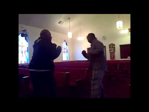 Old Men Fighting At Church