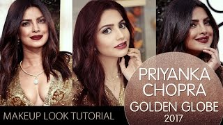 Priyanka Chopra Look at Golden Globes 2017 Awards Makeup Tutorial | Celebrity Look Makeup Tutorial