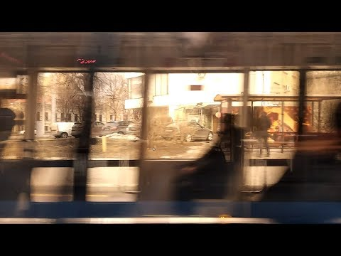 Ты в Москве. Ты едешь на 7 трамвае   Moscow. 7th TRAM   Very Useful Route (Belorusskaya - MIRA)