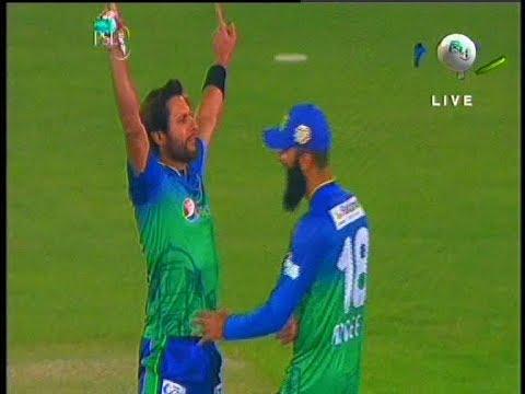 Shahid Afridi Stunning Catch of Tom Banton | Peshawar Zalmi Vs Multan Sultans | PSL 2020