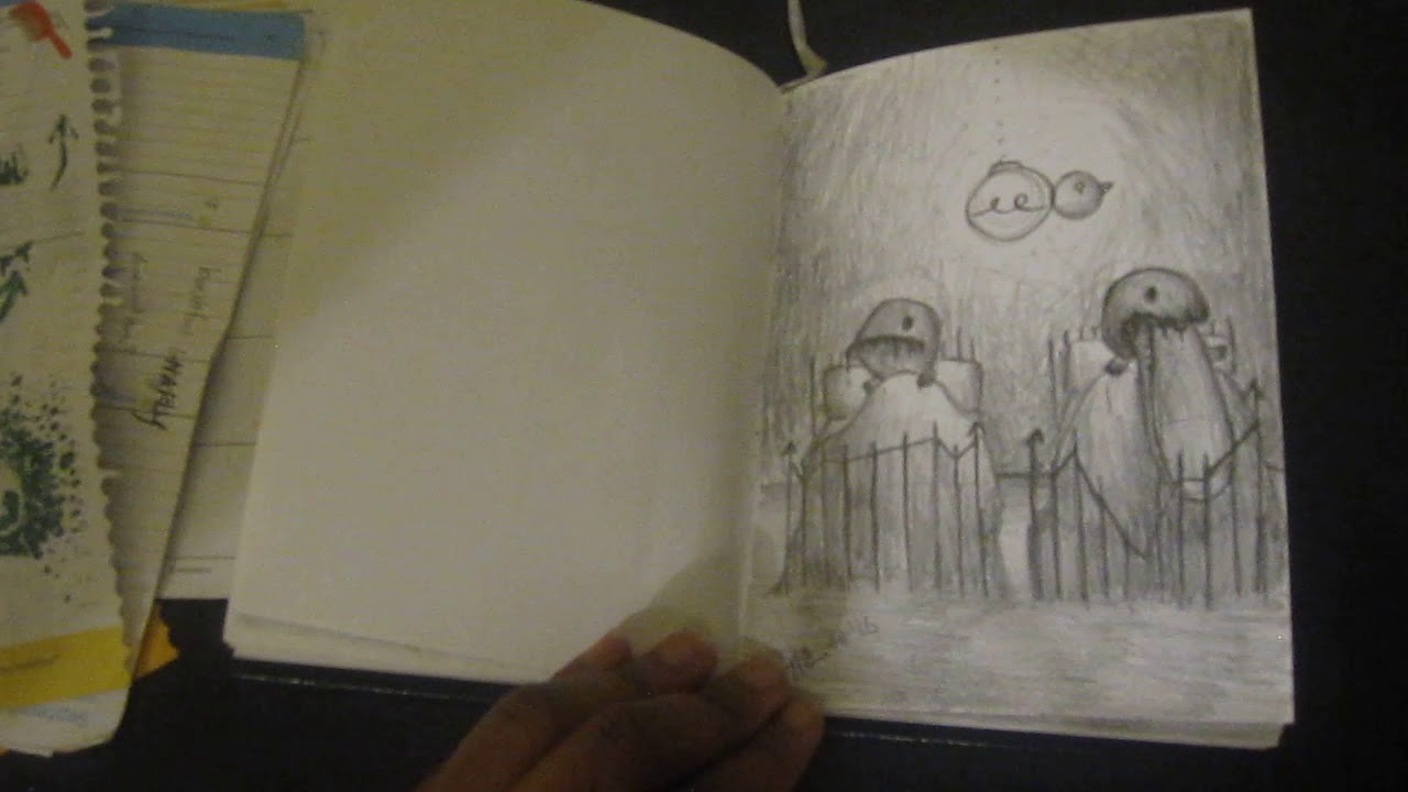 OCAD U Digital Futures Portfolio Sketchbook Shiann Nias