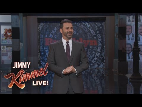 Jimmy Kimmel is Back in Brooklyn!