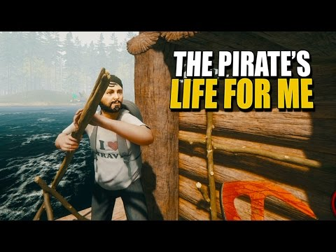 THE PIRATES LIFE FOR ME The Forest: Tribal Warfare #1