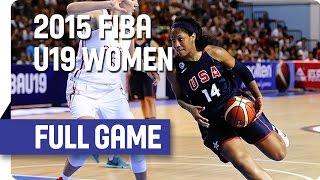 Russia v USA - Final Full Game - 2015 FIBA U19 Women's World Championship thumbnail