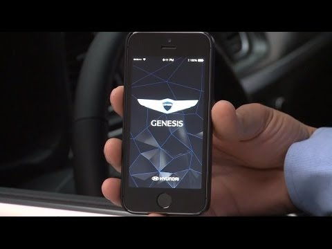 Watch the Hyundai Genesis App in Action  YouTube
