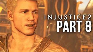 INJUSTICE 2 STORY MODE Gameplay Walkthrough Part 8 - Chapter 10 - BLACK ADAM & AQUAMAN