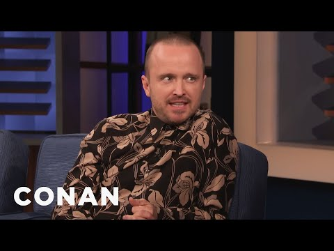 """El Camino"" Features Aaron Paul's First Improvised ""Yeah Bitch!"" - CONAN on TBS"